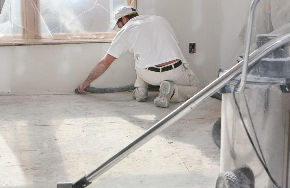 Lavori in corso…alle pulizie di fine cantiere ci pensiamo noi!
