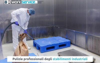 Affidati ad un'azienda specializzata in pulizie industriali