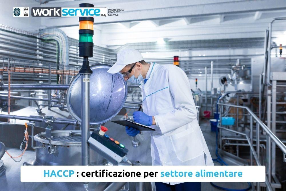 HACCP settore alimentare
