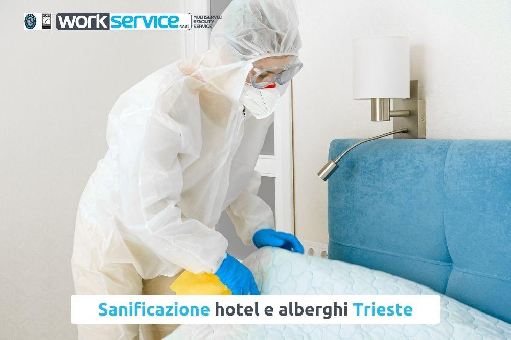 Sanificazione di hotel e alberghi a Trieste