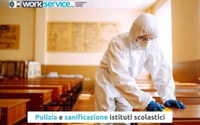 Pulire e sanificare gli istituti scolastici