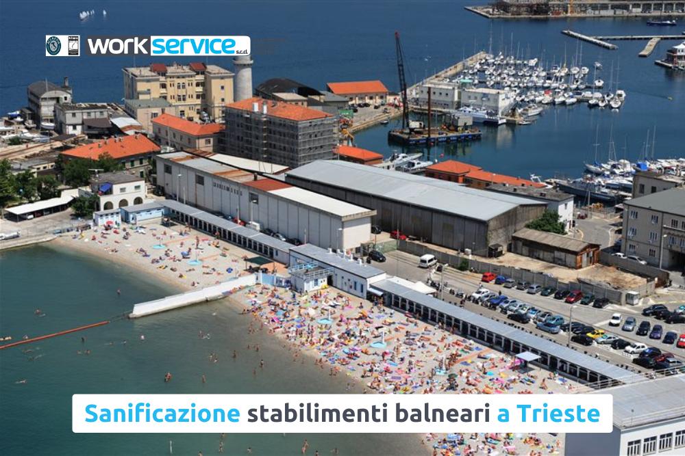 Sanificazione stabilimenti balneari a Trieste